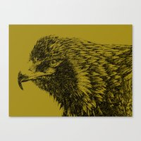 Canvas Print featuring eagle eagle by ASERA