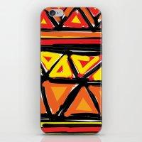 Hot Triangles iPhone & iPod Skin