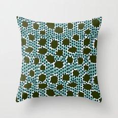 Kaira -  Print pattern, pattern, surface design, charlotte winter design Throw Pillow
