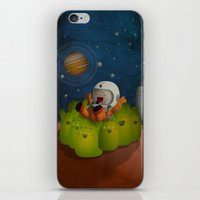 Welcome to mars! iPhone & iPod Skin