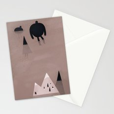 monsters are coming. Stationery Cards