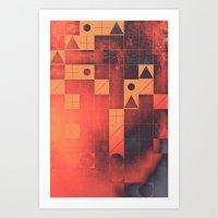 Fyrge Plyte Art Print