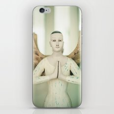 Doll put the palms of the hands together in salut iPhone & iPod Skin