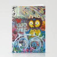 Graffiti Love Stationery Cards