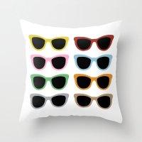 Sunglasses #4 Throw Pillow
