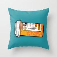 Mario M.D. Throw Pillow
