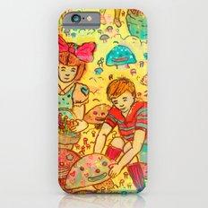 Pink Cloudy Mushroom iPhone 6s Slim Case