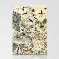 Grotesque Flora and Fauna Stationery Cards