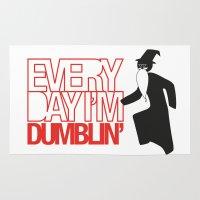 Every Day I'm Dumblin' Rug