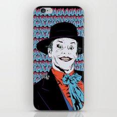 You Can Call Me...Joker! iPhone & iPod Skin