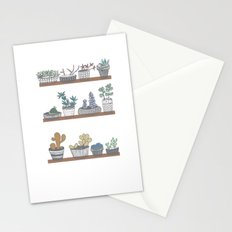 Quirky Succulents Stationery Cards