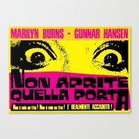 August 18, 1973: Punk Rock locandina #1 Canvas Print