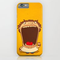 iPhone & iPod Case featuring Big Mouth by blackmask