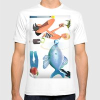 Surrealism Mens Fitted Tee White SMALL