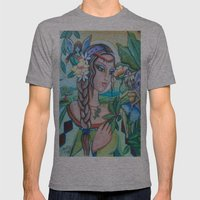 Into Fairy Land Mens Fitted Tee Athletic Grey SMALL