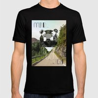 Mind The Bear! Mens Fitted Tee Black SMALL