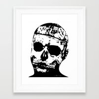 Rick Genest (Zombie Boy) Framed Art Print