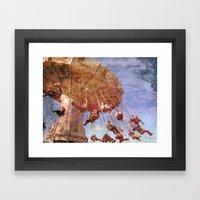 Swingin' By Framed Art Print