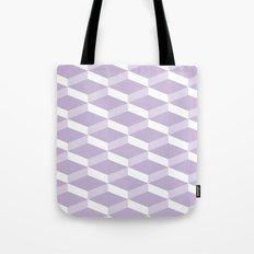3D Lilac Tote Bag