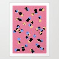 dot dot Art Print