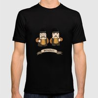 Bomonti, Istanbul Mens Fitted Tee Black SMALL