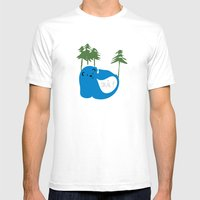 Party Animals - Norwegia… Mens Fitted Tee White SMALL