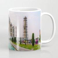 Taj Mahal at Sunset Mug