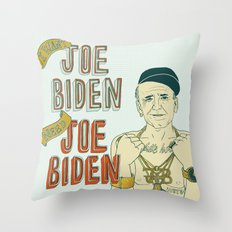 Joe Biden Throw Pillow