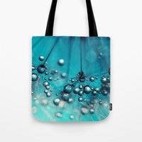 Sea Blue Shower Tote Bag