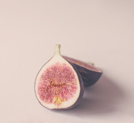 Pastel Figs  Art Print