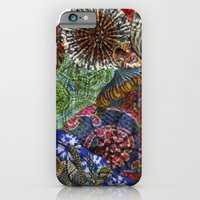 Psychedelic Botanical 3 iPhone 6 Slim Case