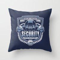 Compliance Enforcement Throw Pillow