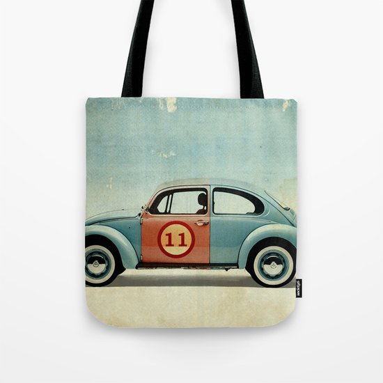 number 11 - VW beetle Tote Bag