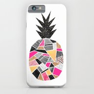 Pretty Pineapple iPhone 6 Slim Case