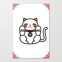 Cats. Canvas Print