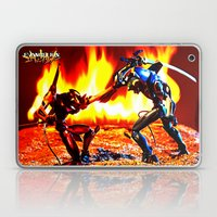 Eva-00 Vs Eva-02 Photosh… Laptop & iPad Skin