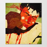 Canvas Print featuring Raging Bull by Le Butthead