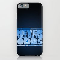 iPhone & iPod Case featuring THE ODDS by geekchic