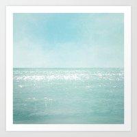 Majestic Sea Art Print