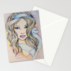 Blue Ribbon  Stationery Cards