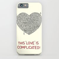 iPhone & iPod Case featuring Complicated by Prince Arora