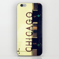 Chicago Skyway ~ Vintage Mid-Century Tollbridge Sign iPhone & iPod Skin
