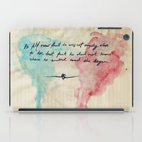 Tolstoy's Love iPad Case