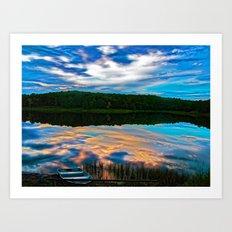 Evening Reflection Art Print
