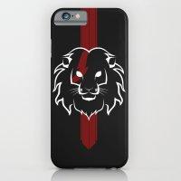 Monarch (White & Red) iPhone 6 Slim Case