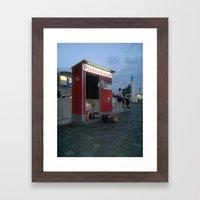 PHOTOAUTOMAT Framed Art Print