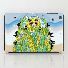 The Monster of Skate Forest iPad Case