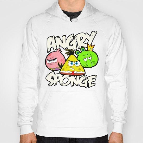 Angry Spongebird - Angry Birds vs SpongeBob Hoody