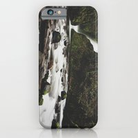 iPhone & iPod Case featuring Lower Bridal falls by Gilganizer