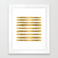 Earning Her Stripes Framed Art Print